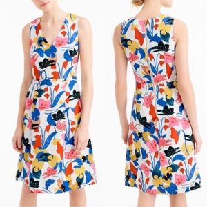 🎉HP🎉 J. Crew A Line Dress in Morning Floral
